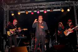 Ретро рок группа в клубе IKRA