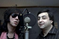 Рок исполнители Sapgir Band и Dave Kusworth
